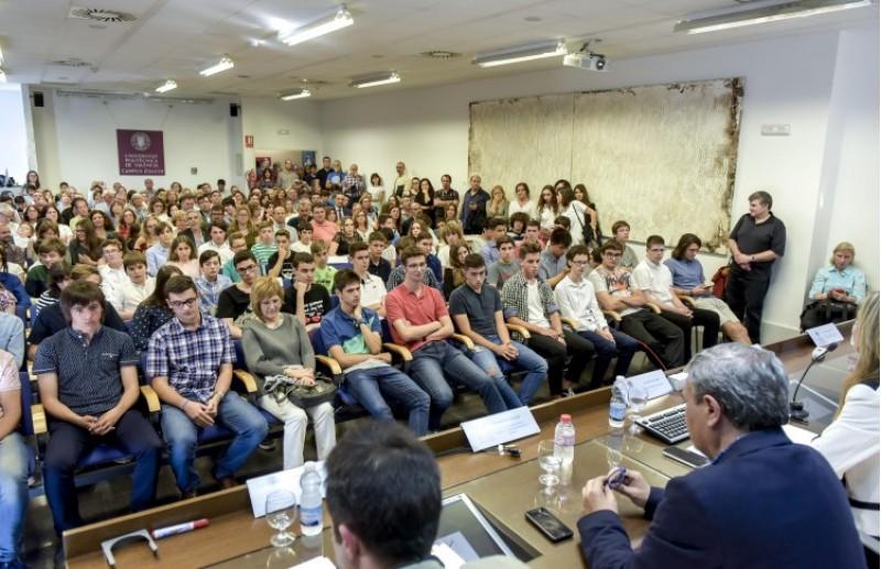 La 'Prova Cangur 2018' desenvolupada en el Campus de la UPV d'Alcoi ja té els seus guanyadors / UPV