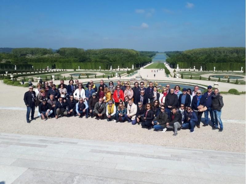 Viatge de mediadors a París pel 140 aniversari de la Unión Alcoyana