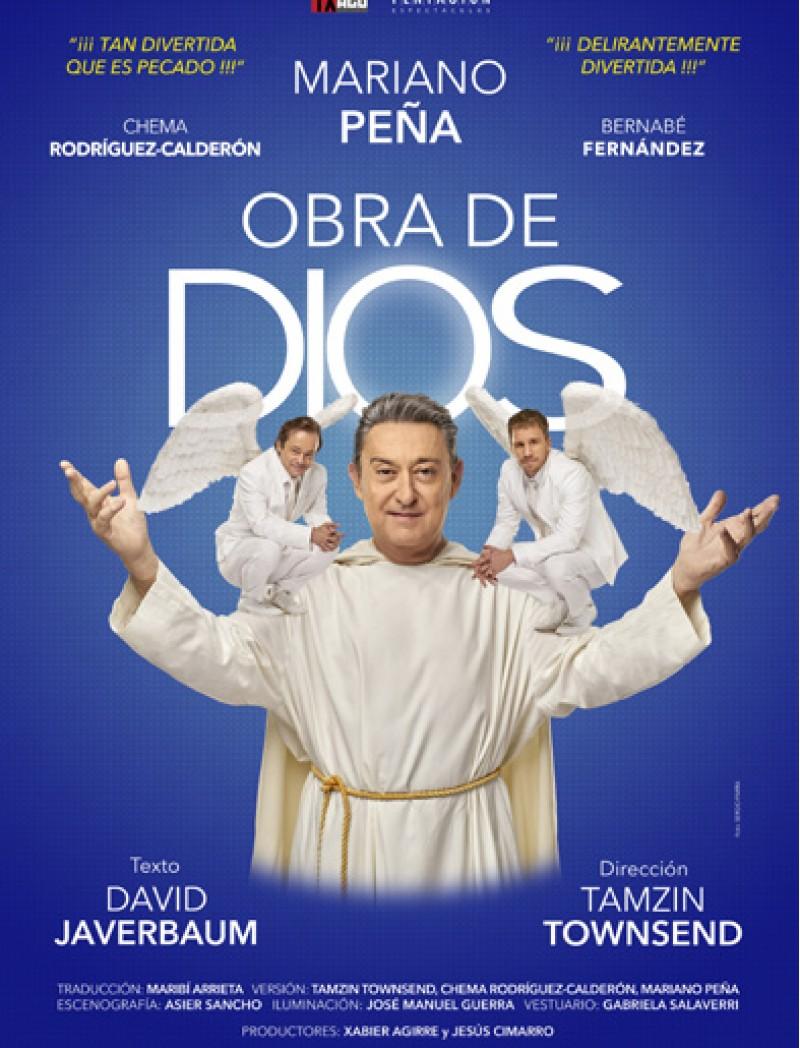 La comèdia que triomfa a Espanya, 'Obra de Dios' arriba al Teatre Rio a Ibi