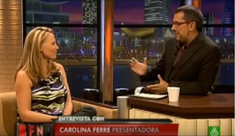 Carolina Ferre és entrevistada per Buenafuente, la seua exparella / La Sexta