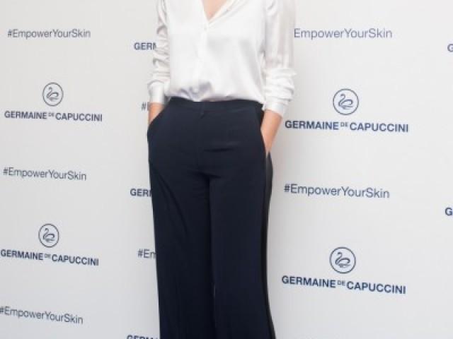 L'actriu Blanca Suárez imatge de l'empresa alcoiana Germaine de Capuccini / Comunicació Germaine de Capuccini