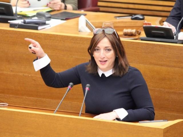 Rosa García, en les Corts