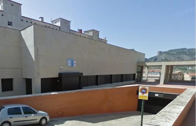 L'ambulatori de la zona Alta d'Alcoi, tancat després del temporal
