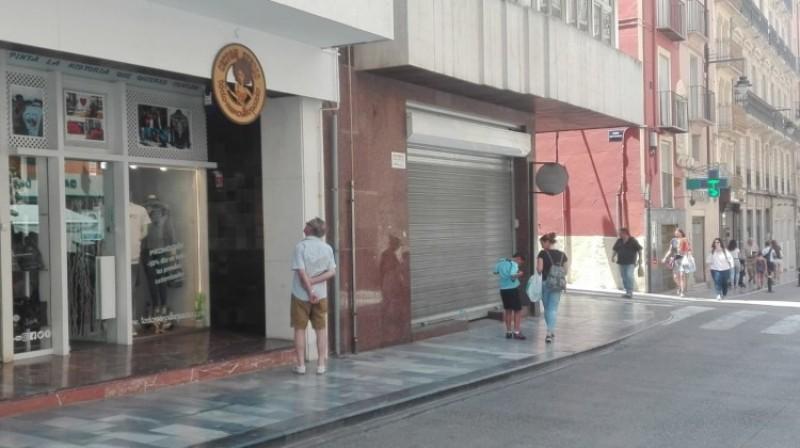 Todomenosleopardo al carrer Sant Llorenç/JD