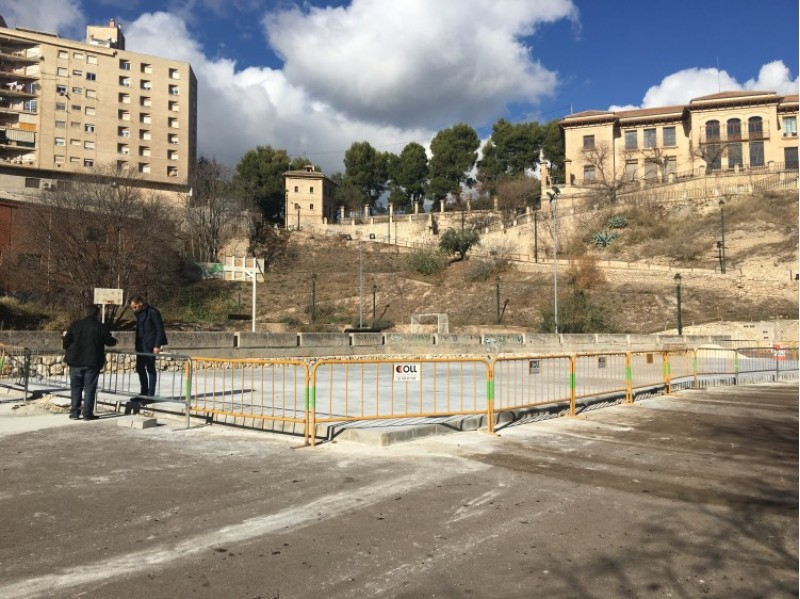 La nova pista d' Skateboard d'Alcoi ja està en marxa / Ajuntament d'Alcoi