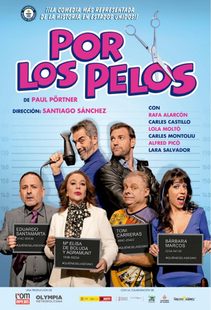 La programació a Teatre Rio a Ibi descansa i torna el 17 de febrer amb l'obra 'Por los pelos'