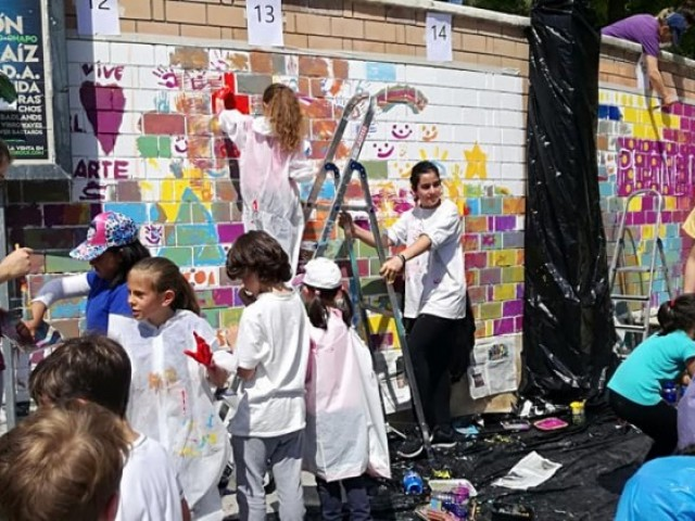 L'art i el nostre entorn torna a ajuntar a alumnes de quatre centres en el Projecte Oroneta