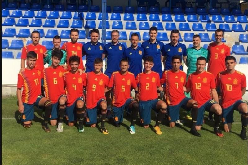 La selecció paraolímpica a El Collao /CDA