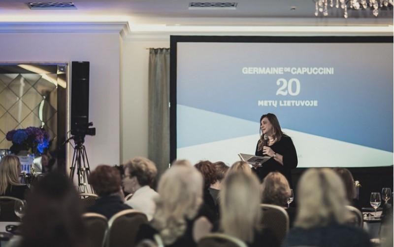 L'empresa alcoiana,Germaine de Capuccini, festeja el seu aniversari en el luxós hotel Batoras a Lituània / Germaine de Capuccini