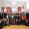 Visita del Sant Jordiet / Corts Valencianes