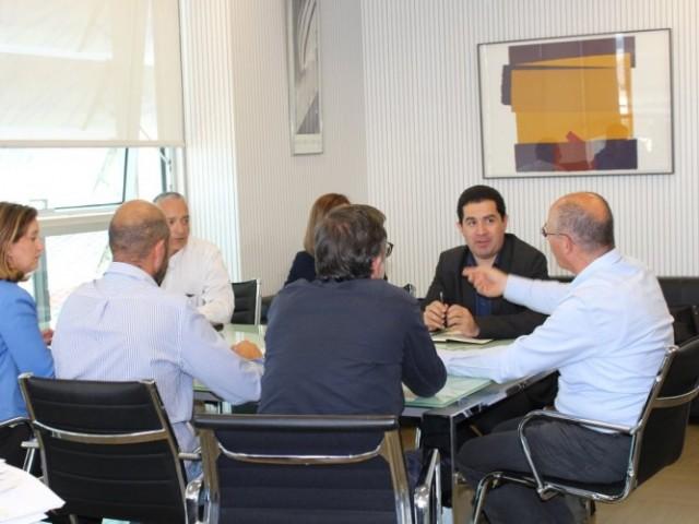 Reunió a València / Ajuntament d'Alcoi