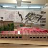 Maqueta del projecte a l'Illa de Rodes, per part del govern municipal