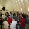 Un moment de l'exposició de Fernando Cabrera a la Llotja de Sant Jordi d'Alcoi
