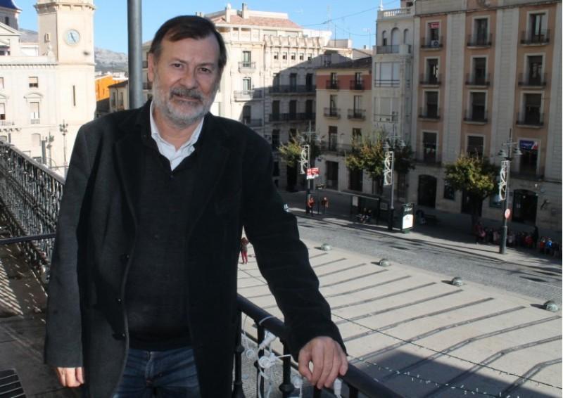 Manolo Gomícia, regidor alcoià responsable del projecte Smart City./ LV