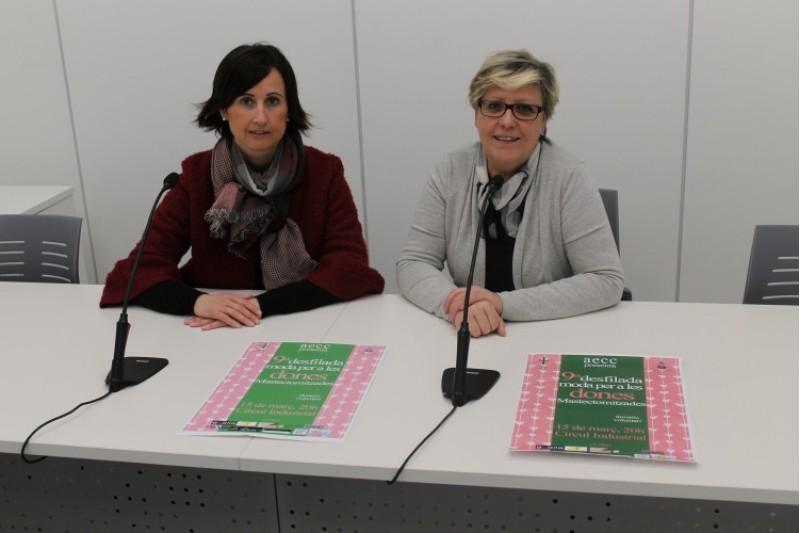 Maria Teresa Alberola y Aroa Mira / Ajuntament d'Alcoi