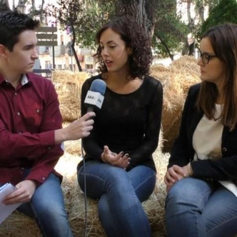 Entrevista a Mariona Carbonell i Mireia Estepa abans de la Fira