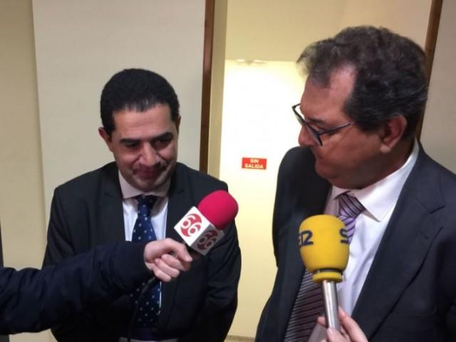 Toni Francés i José Miguel Saval atenen als mitjans / AM