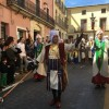 Muro celebra el primer acte de les festes de Moros i Cristians en honor a la Mare de Déu dels Desemparats amb La Publicà / Muro d'Alcoi