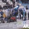 El públic anima el partit del CD Alcoyano contra el València Mestalla
