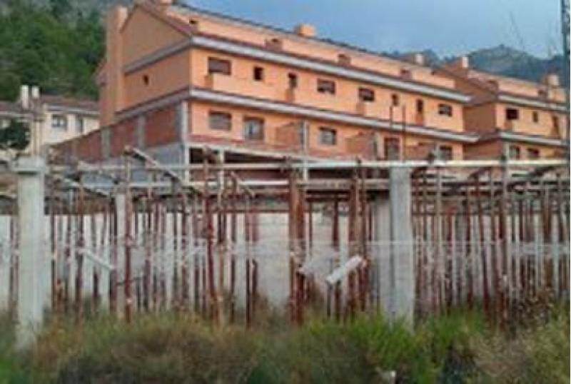 Part de la urbanització inacabada a Serelles