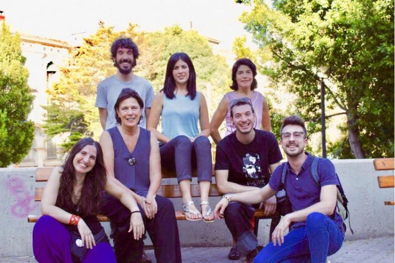 Nova executiva de Podem Alcoi, amb Naiara Davó al capdavant