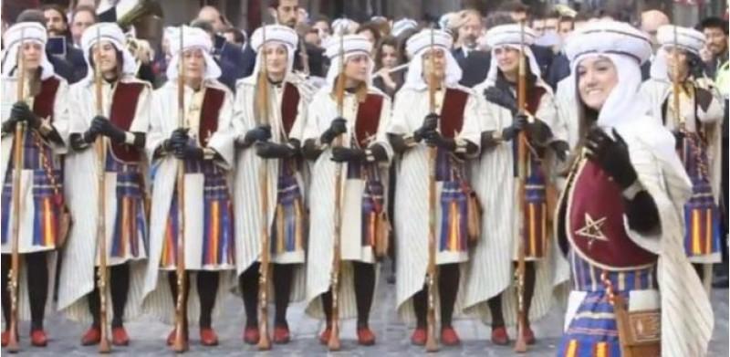 Les dones Marrakechs, en la primera Diana /AM