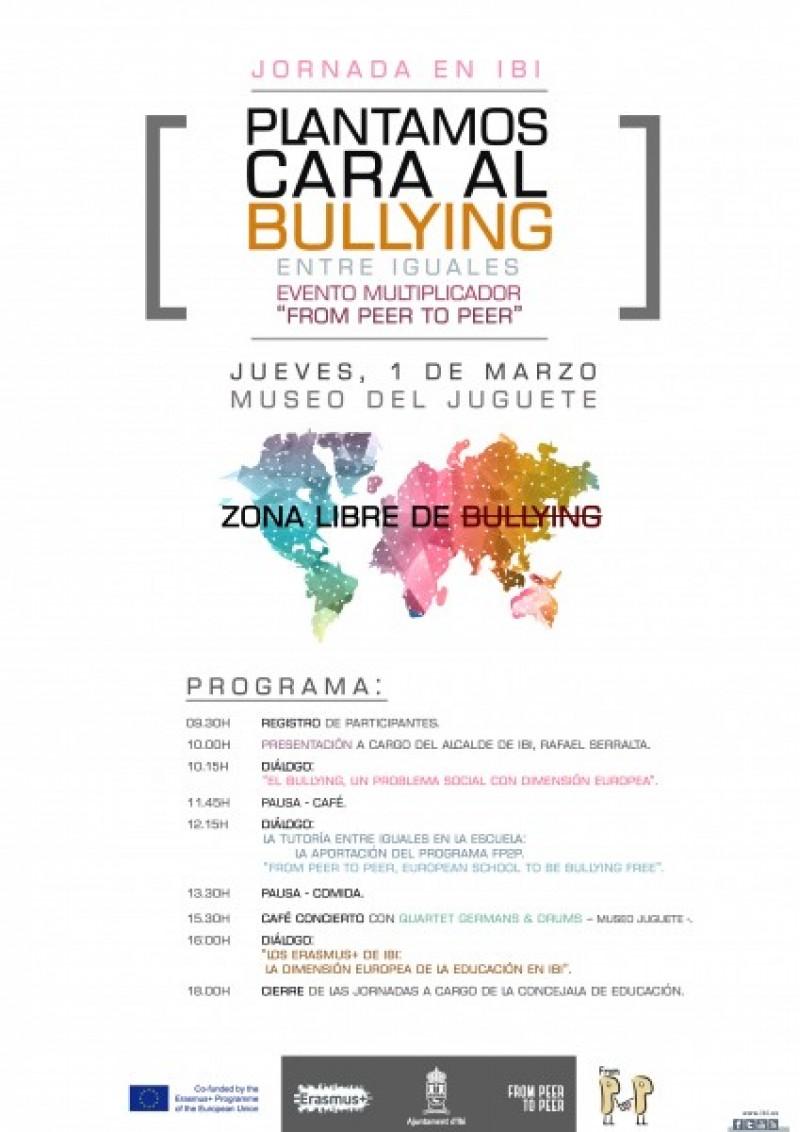 Participa en la jornada 'Plantem cara al Bullying' a Ibi / Ibi