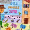Per primera vegada a Cocentaina, el cartell dels Nanos ix d'un concurs escolar de dibuix