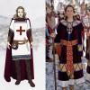 El disseny que es va votar ahir a l'esquerra i el de dama amb el que eixiran en esquadra a la dreta/AM