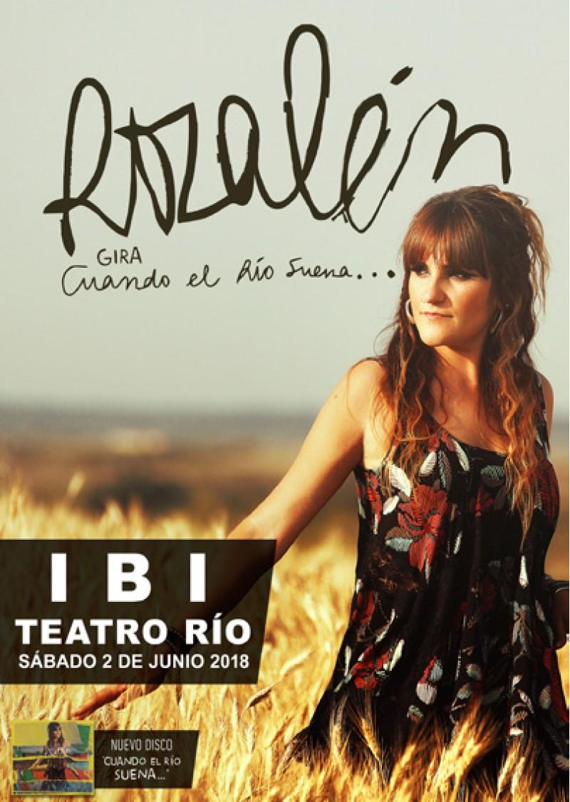 Rozalén en directe a Teatre Rio d'Ibi