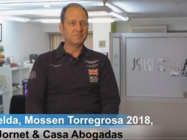 """Santi Belda, Mossèn Torregrosa 2018 d'Alcoi: """"L'Alferes Cristià i jo tenim una gran amistat"""". Entrevista des de Jornet & Casa Abogadas"""