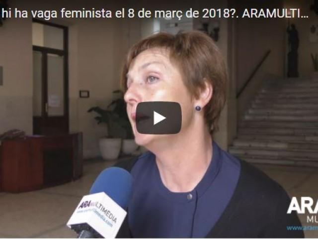 """""""Si la dona para, una part de la societat para també"""". Reportatge audiovisual previ al 8 de març i la vaga feminista"""