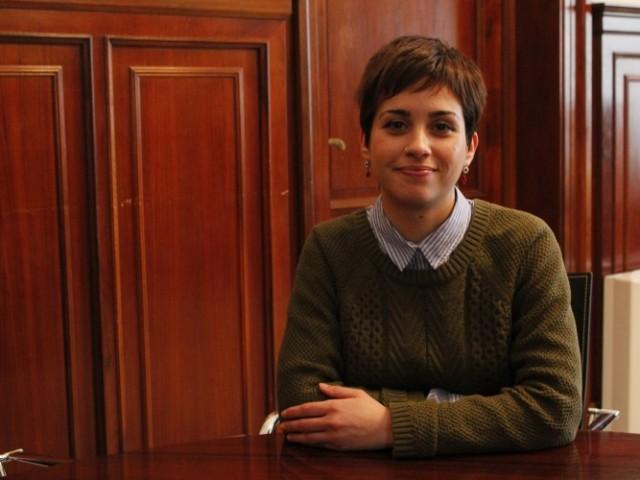 María Baca, regidora de democràcia participativa a l'Ajuntament d'Alcoi