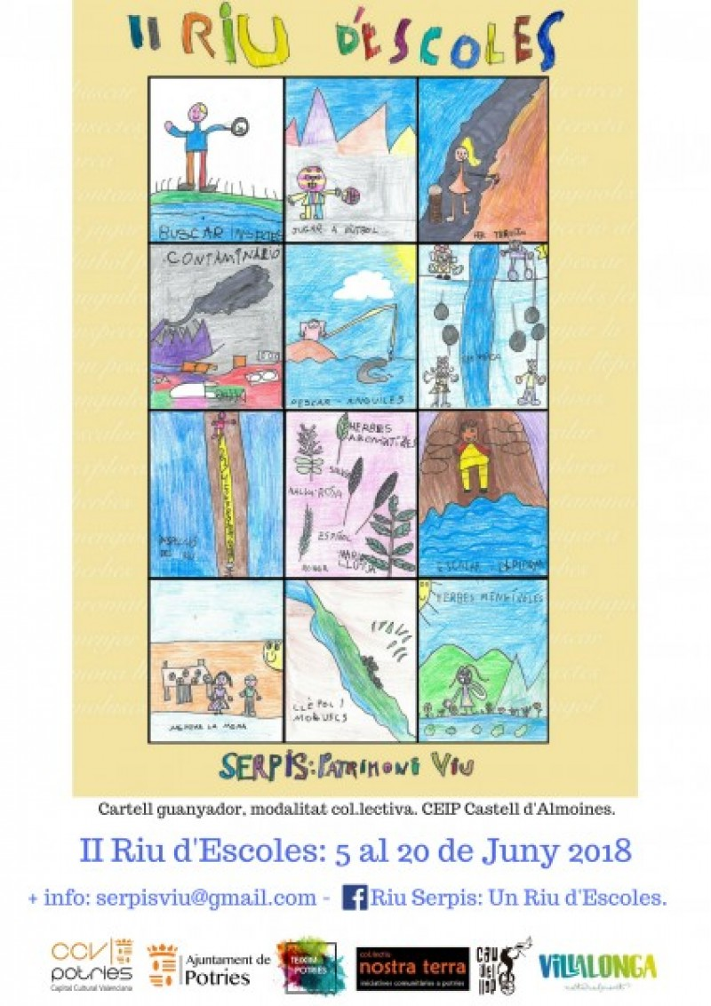 Suma't a la iniciativa 'Un riu d'escoles' d'algunes entitats de la comarca de la Safor / Serpis Viu