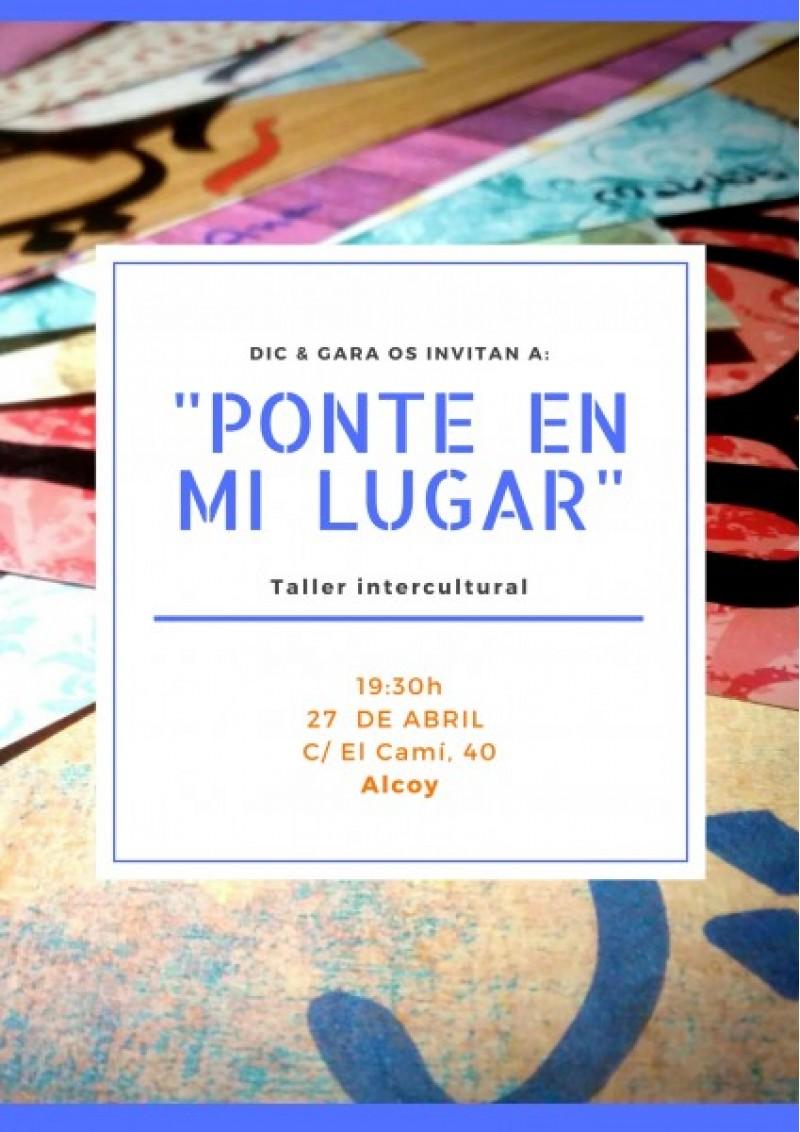 Taller intercultural 'Ponte en mi Lugar' de la mà de DIC & GARA d'Alcoi
