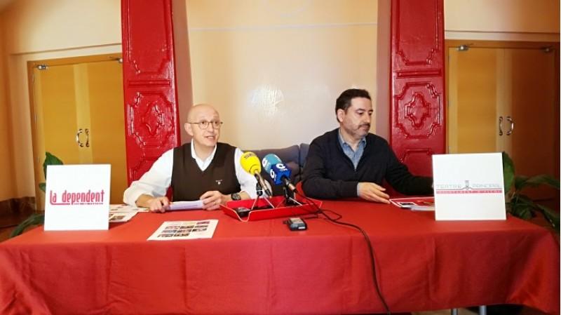 Joanfra Rozalén i Miquel Santamaría presenten la programació per al primer trimestre del 2018 al Teatre Principal