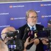 El president de l'entitat Antonio Carbonell aten als mitjans