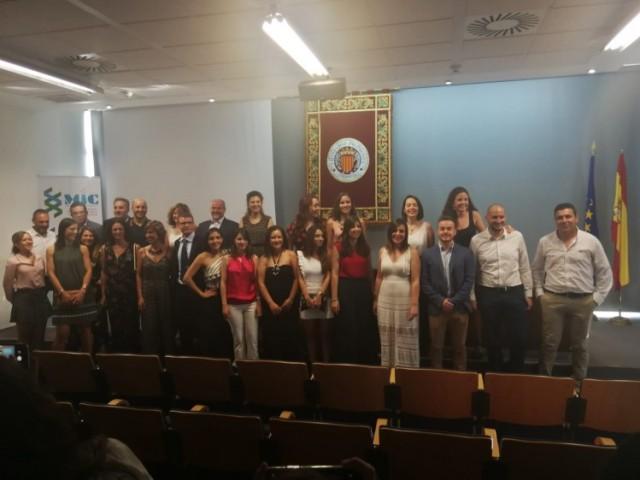 Tercera graduació del Màster en Indústria Cosmètica al Campus d'Alcoi / UPV