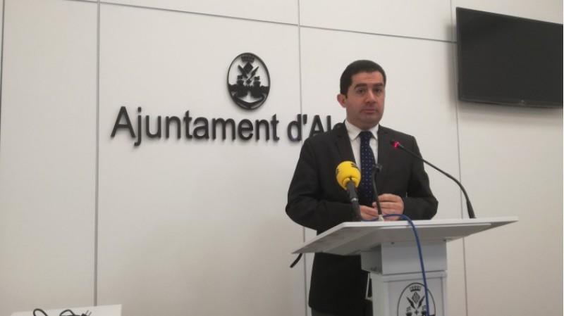 l'Alcalde d'Alcoi parla d'Alcoinnova