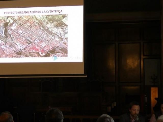 Presentació del nou carrer Entença / AM