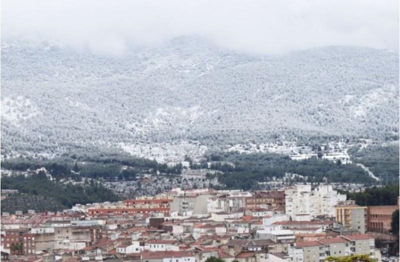 Impressionant nevada a Alcoi / L. Silvestre