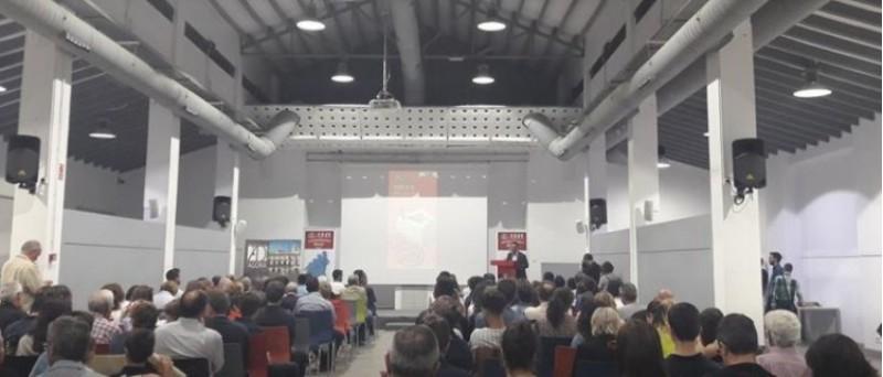 Acte amb els esportistes profesionals a l'Àgora / Ajuntament d'Alcoi