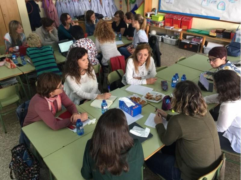 Una de les reunions dels departaments d'Orientació de tots els col·legis concertats de la ciutat