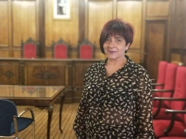 Vicky Llàcer, regidora de Guanyar Alcoi