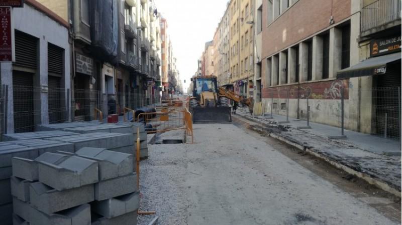 Les obres s'han représ amb normalitat aquest 16 de maig, després de l'accident.