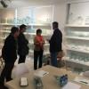 Visita de la secretària autonòmica a una empresa de La Vall d'Albaida / COEVAL