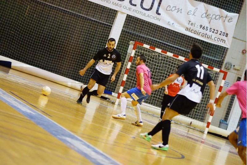 Unión Alcoyana FS en un partit d'aquesta temporada / Carlos Cabrera