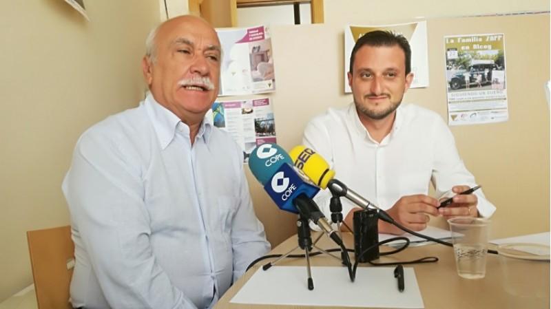 Angelo Brigante i Jordi Linares presenten la idea de viatjar dins d'un joc