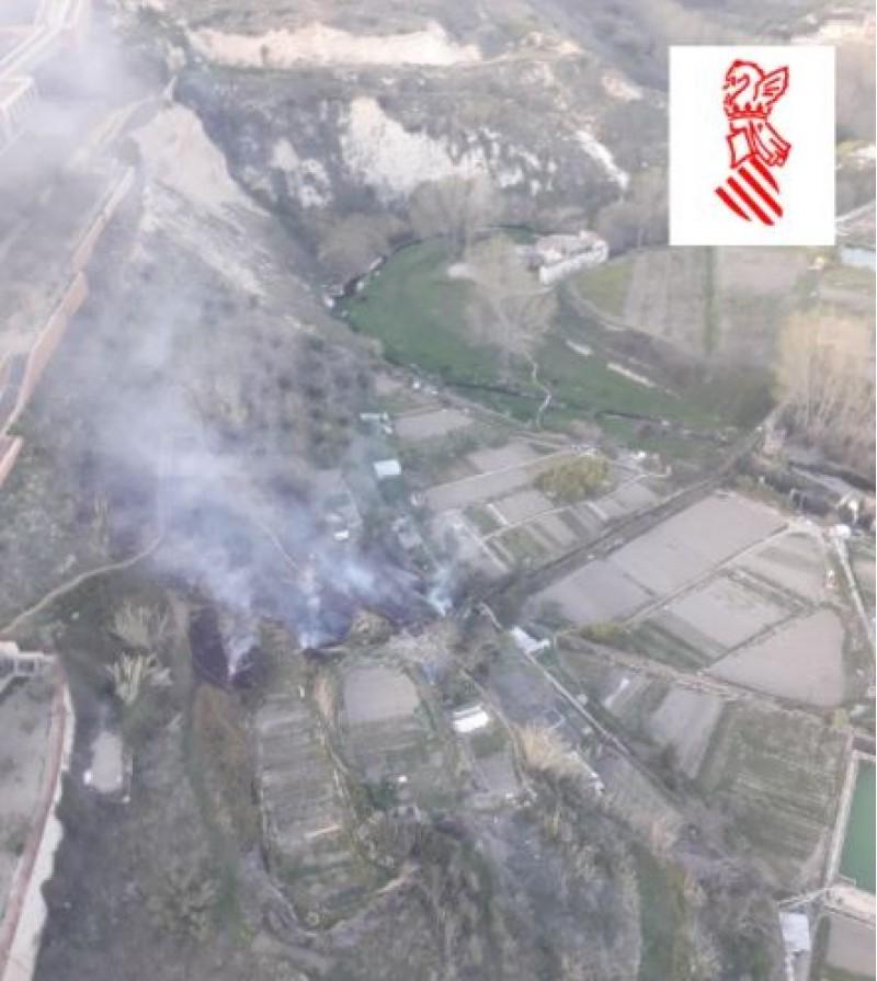Imatge del Servei d'Emergències de la Generalitat