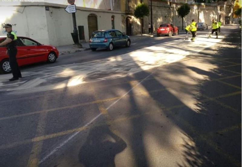 Vessament a Cervantes / Policia Local